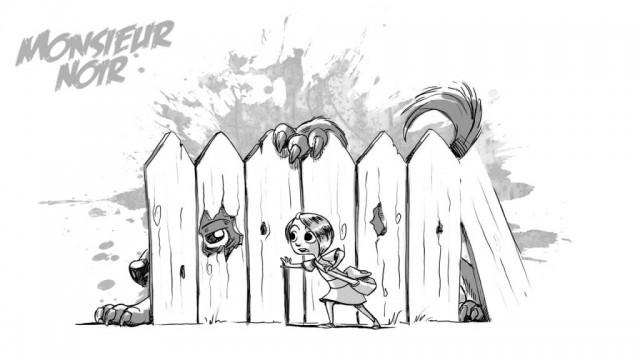 Der Monsterhund im Nachbargarten