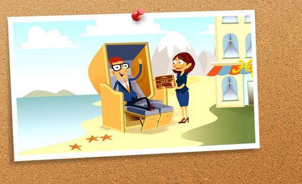 Postkarte von Karl