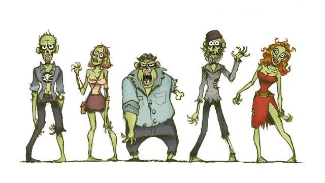 ...und noch mehr Zombies!