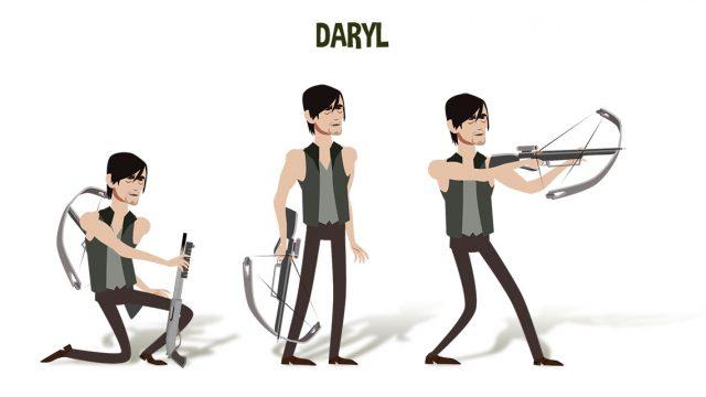 Characterdesign Daryl
